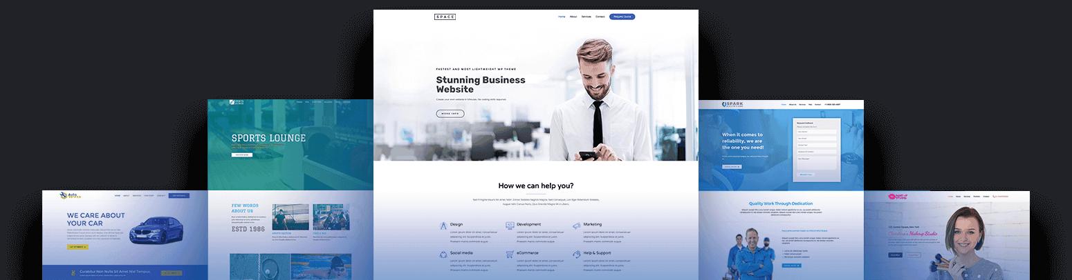 Vancouver Web Design Mockup Sample
